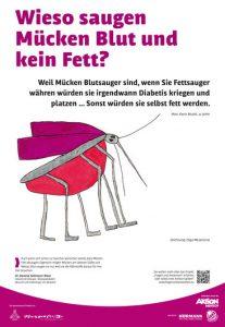 wieso saugen Mücken Blut und kein Fett
