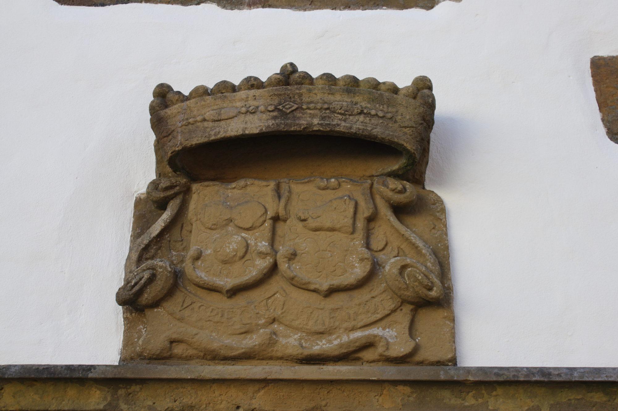 Spiegelshof Tür