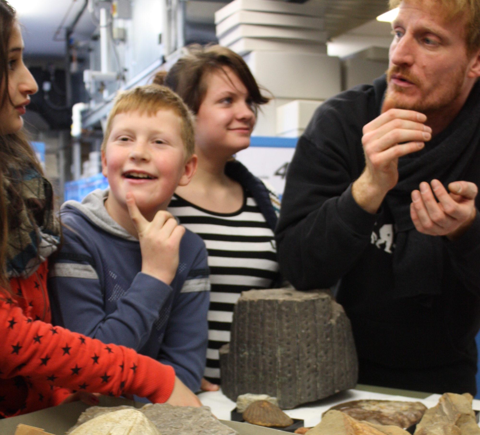 Bild zu Fossilien erzählen ihre Geschichte