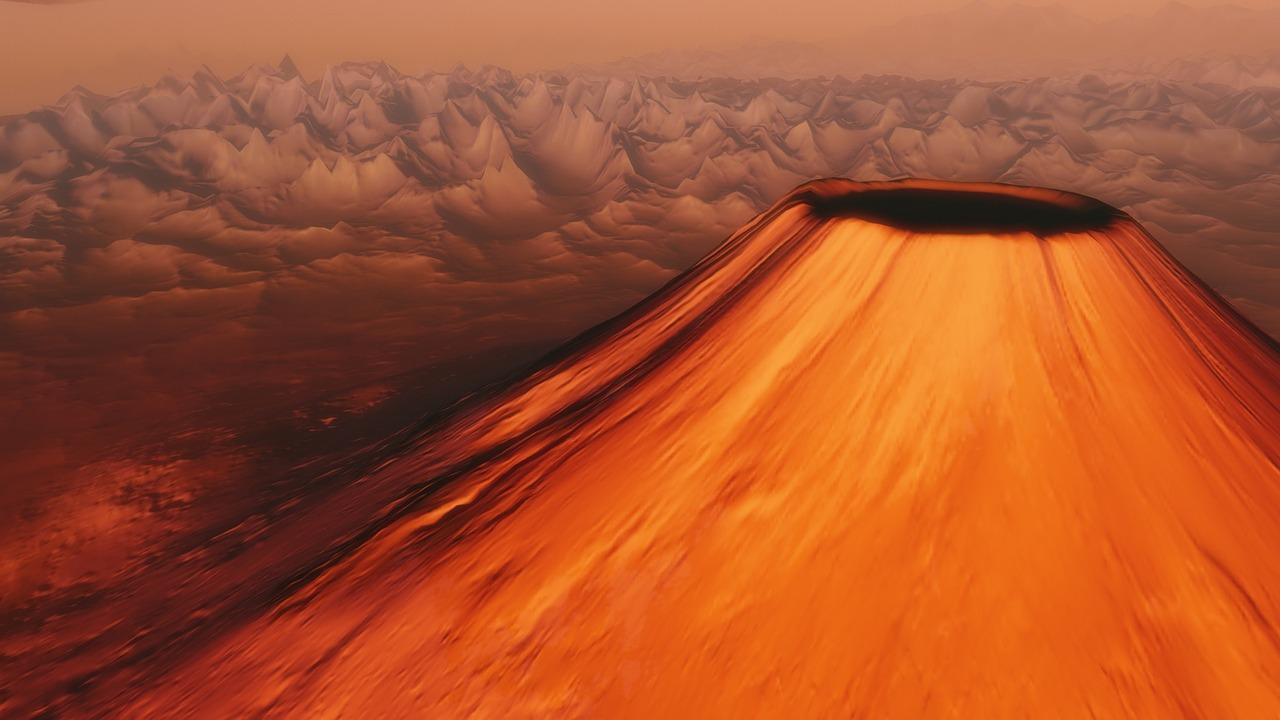 Vulkan Bild